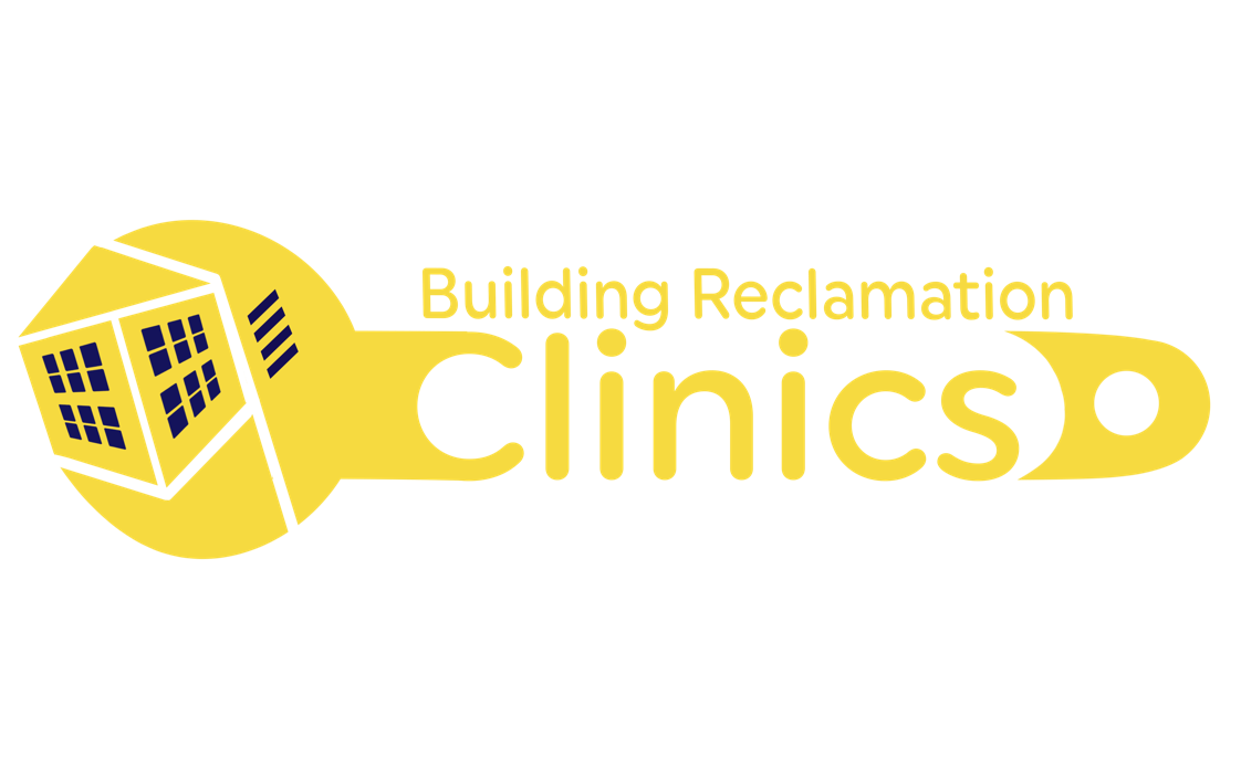 building reclamation clinic logo breathing lights